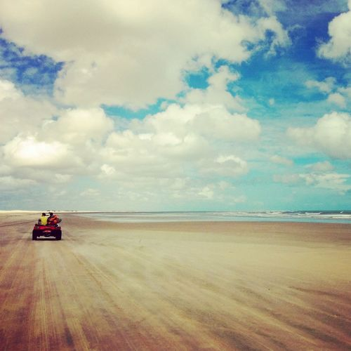 Jericoacoara Brazil Beach Nature Buggy
