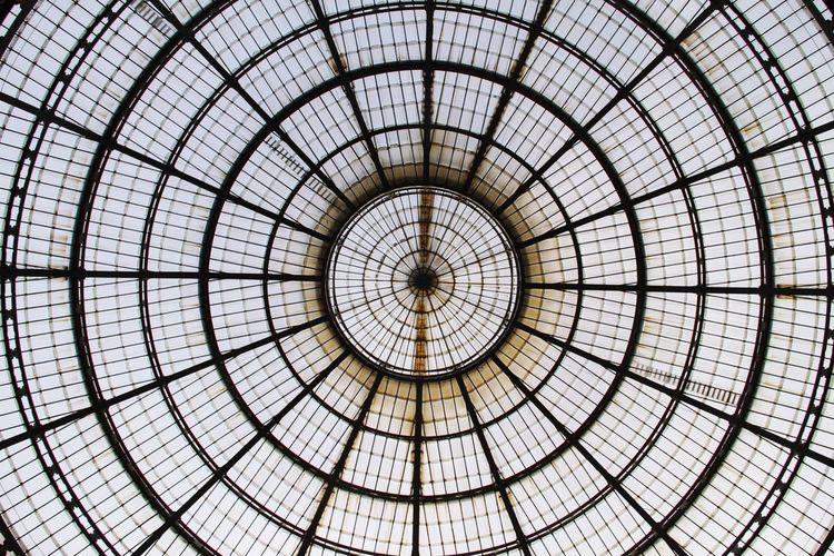 Pattern Geometric Shape Backgrounds No People Concentric Architecture Full Frame Built Structure Indoors  Architecture And Art