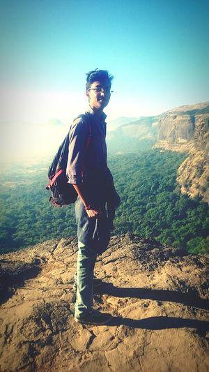Enjoying Life Trekking Nice View From Above Photography @harishchandragad