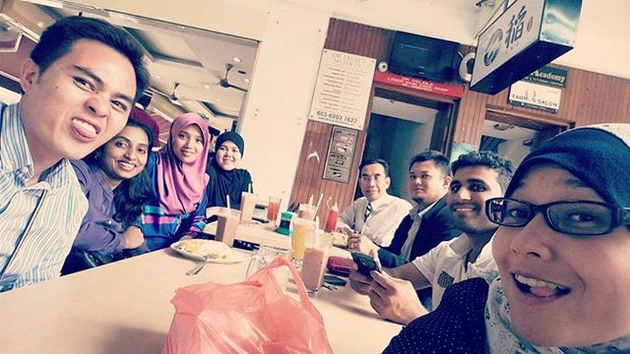 Geng Sehati Berdansa....hahahaha... Thisisreef Kmkl Dinner 2015  Dukeandduchess