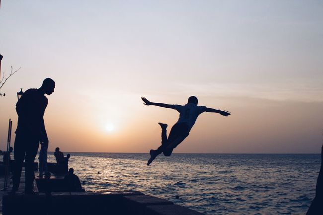 Forodhani, Stone Town, Zanzibar Forodhani Stonetown Zanzibar Zanzibar_Tanzania Tanzania Africa Enjoying Life Diving Sunset Sunset_collection Sunset Silhouettes Silhouette