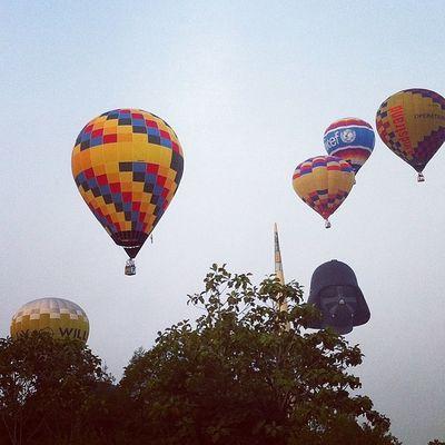2nd day at the Putrajaya International Hot Air Balloon Fiesta 2014 Putrajaya Malaysia Myballoonfiesta Iamalexchan baymile hotairballoon liveitriskit