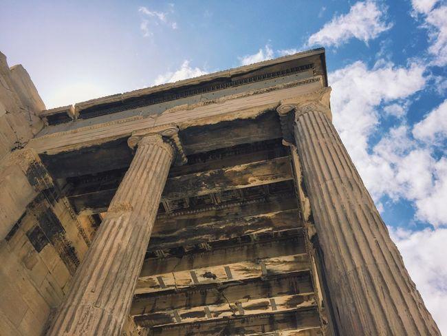 Acropolis Acropolis, Athens Parthenon Athens Athens, Greece Architecture Greek Greece Ancient Architecture Lookingup