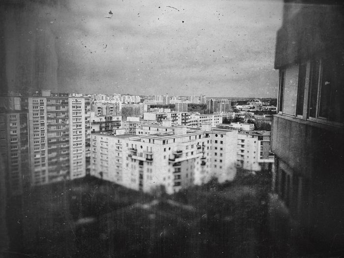 Window Cityscape Buildings & Sky Black&white Photography Recollection MaisonsAlfort France 🇫🇷