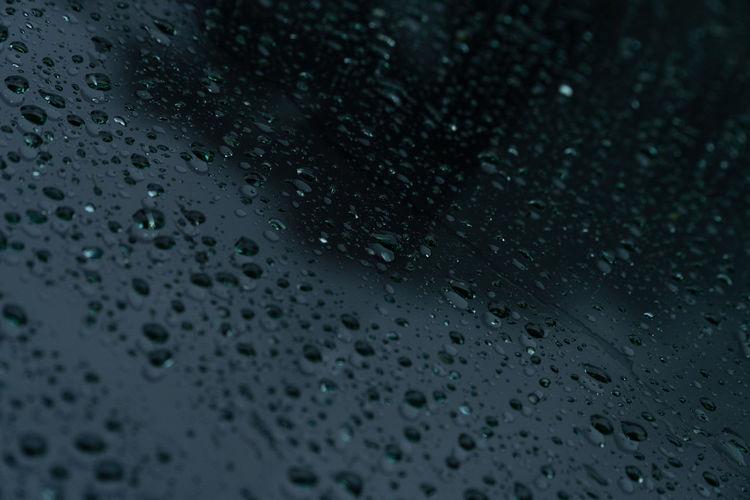 Water raindrops