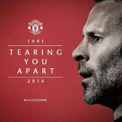 This day finally comes. Hkig 2014 Football Giggs giggslegend manchesterunited retirement @manchesterunited