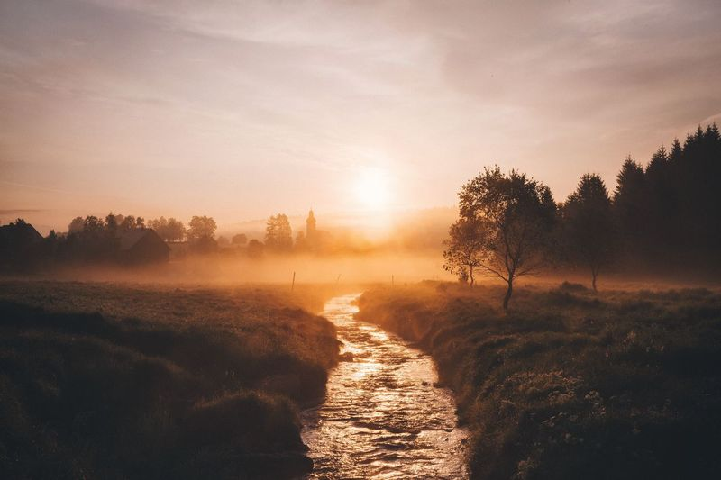 Red River Rural Germany Photography Artist On Tumblr Sunrise Tranquil Scene Traveling Fog Remote Outdoors Vscocam Mountain Travel Destinations VSCO Roadtrip Explore EyeEm Best Shots Beauty In Nature Travel Spring The Great Outdoors - 2016 EyeEm Awards Nature Landscape