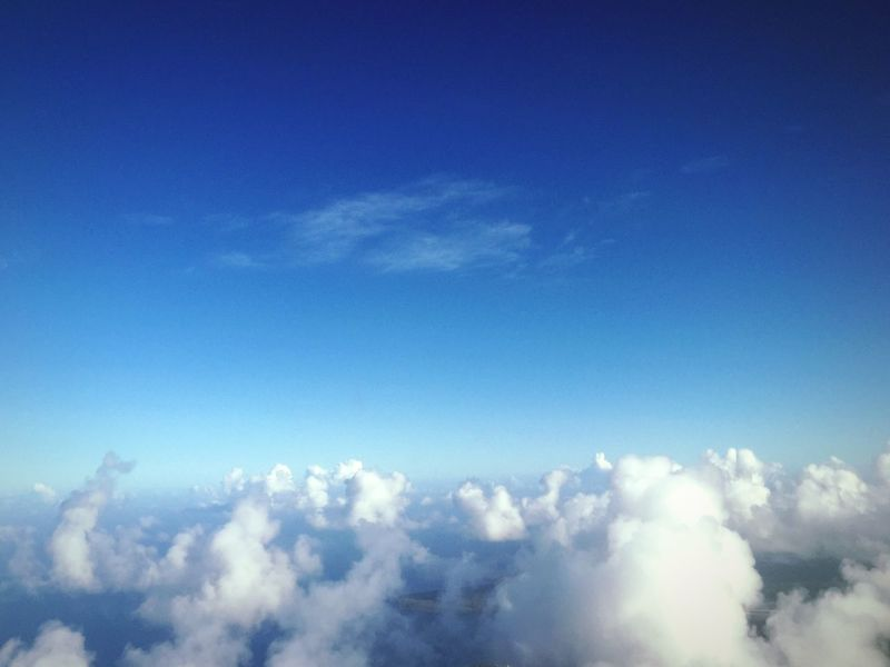 Sky Sky And Clouds Blue Blue Sky Clouds And Sky Flying Flying High Traveling Hello World Relaxing Taking Photos Enjoying Life Photography Outdoors Sea And Sky Alone Light Aircraft Light Airplane June Rota Window Nature Nature_collection Beautiful Beautiful Nature