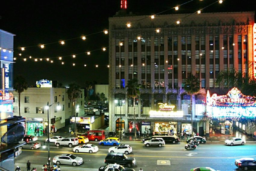 Cars Hollywood Lights