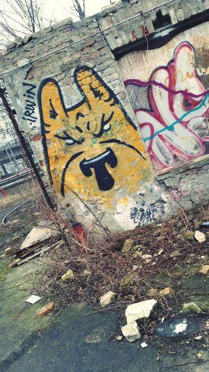 Grafitti Art. Graffiti Berlin Pankow