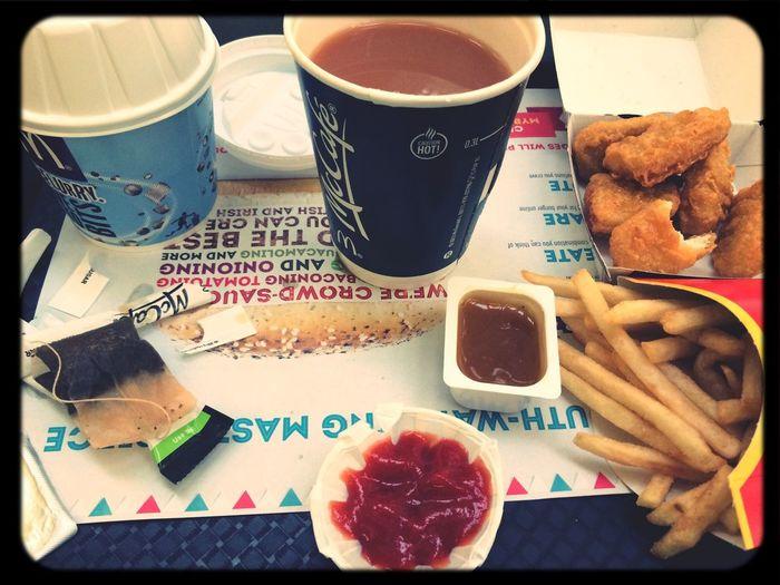 Mmmm maccys! Mcdonalds Maccys Junk Food