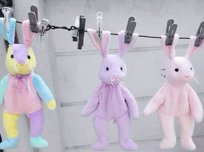 On The Phone... Rabbits Dolls Cute♡