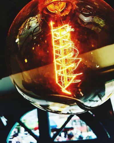 Bulb EyeEm Selects Mobile Photography Moto G5plusClick Yellow Filament Bulb Filament Filament Lights Hot Electricity  Illuminated Close-up Entertainment Long Exposure Light Painting Glowing Electricity Tower Electric Bulb Light Bulb EyeEmNewHere
