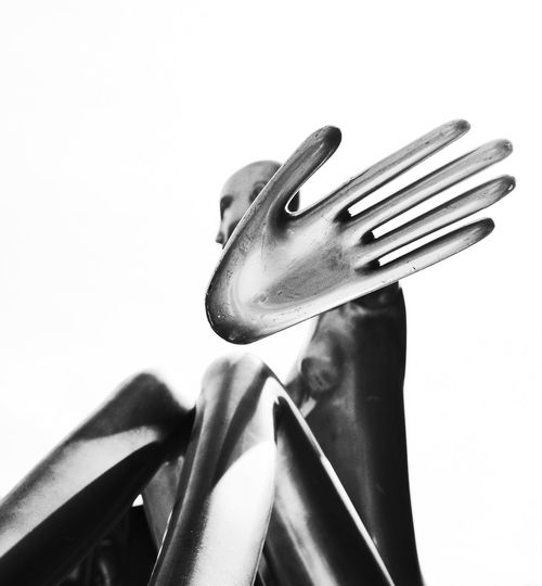 Background Black And White Blackandwhite Body & Fitness Body Curves  Bodyart Bw Cover Display Display Dummies Dummy Five FiveByAll Fivefingers Give Me Five Hand Hands People Sculpture Sign Simple Still Still Life Stop
