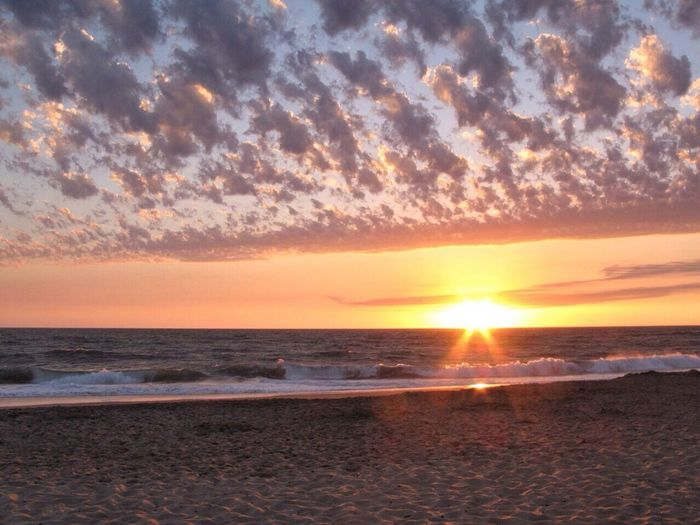 Sun And Clouds Beach Evening Sun (Canon G7)