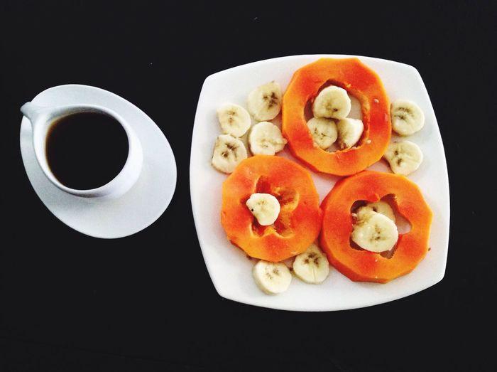 Seriously, I love the coffe. Lovingcoffee Breakfast ♥