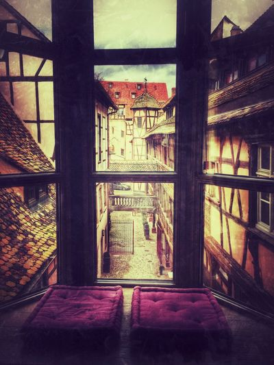 View from our hotelroom in Strasbourg. Wonderfull 4star hotel Cour Du Corbeau Hotel Hotel Room View From The Window... Enjoying Life Vacation Strasbourg France Beautiful Old Buildings Old House 16 Century Architecture Tadaa Community Window