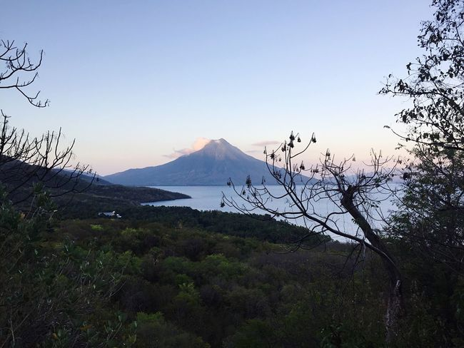Dawn bliss Mountain Range Flores INDONESIA Morning Sky Beauty In Nature Tranquil Scene Landscape