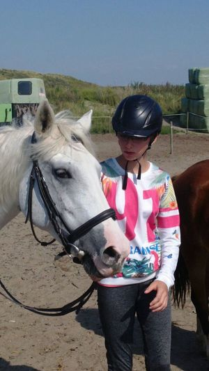 Me :)  Horse Domestic AnimalsDay One Person Young Adult Sun Mammal Lanscape Beauty In Nature EyeEmNewHere