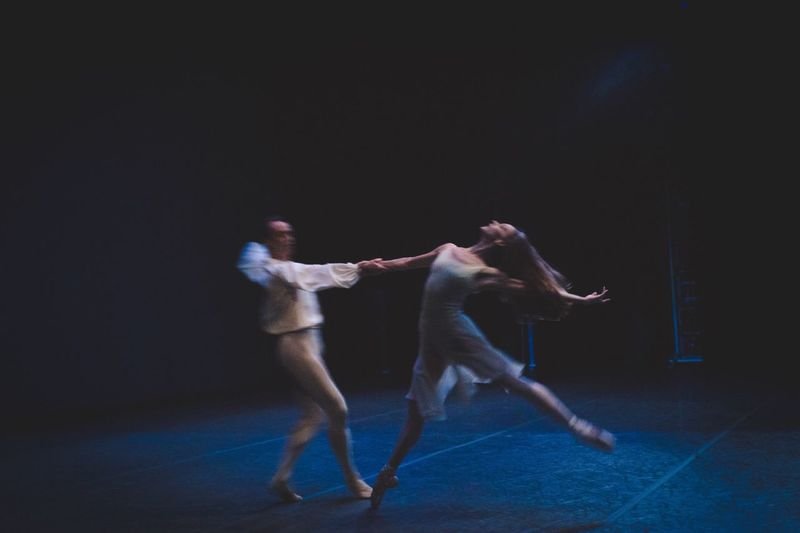 Chaconne New York City Ballet Dancers Ballet Onstage Movement Romantic