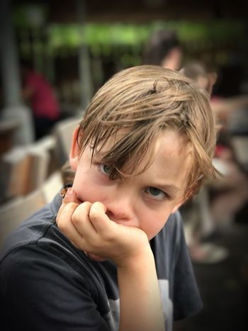 About a boy Portrait One Person Headshot Child Real People Childhood The Portraitist - 2018 EyeEm Awards Blond Hair Hair Looking At Camera Human Face Teenager Innocence Hand Boys