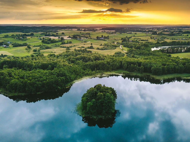 Lithuanian nature Aerial Shot DJI Mavic Pro DJI X Eyeem Drone  Lithuanian Nature Aerial Aerial View Beauty In Nature Cloud - Sky Environment Idyllic Landscape Mavic Mavic Pro Nature No People Non-urban Scene Outdoors Plant Scenics - Nature Sky Tranquil Scene Tranquility Water
