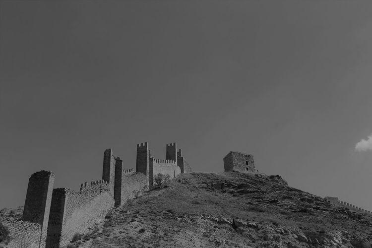 Albarracín SPAIN Architecture Black And White Day España Outdoors Sky