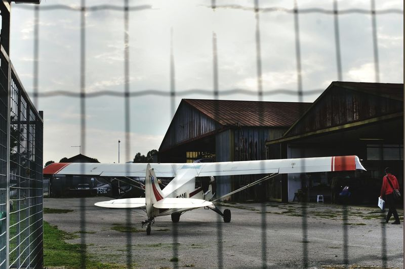 Freedom Fly Away Hangar Airplanes Pilotlife Landscape_Collection Landing Wings Little Airport East Italy Airport Sunlight To Be Free Flying My Point Of View Aeronautica Sunset