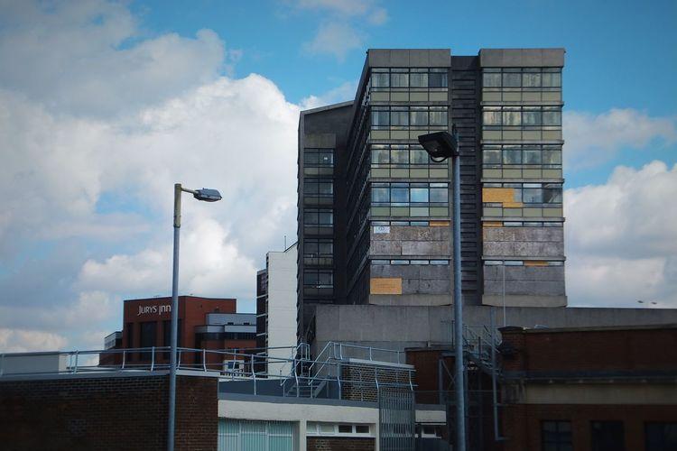 Brutalist Architecture Derelict Building Sky Sky And Clouds Skyline Skylines Summer Swindon