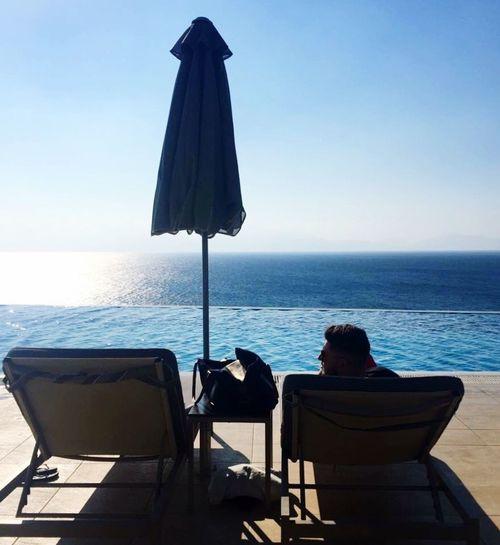 Infinity Pool Michaelangelo Greece Kos