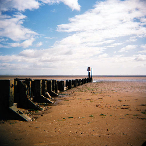 Beach Beach Photography Beauty In Nature Cloud - Sky Day Film Film Photography Filmisnotdead Holga Horizon Over Water Medium Format Nature No People Outdoors Scenics Sea Sky Tranquil Scene Tranquility Water