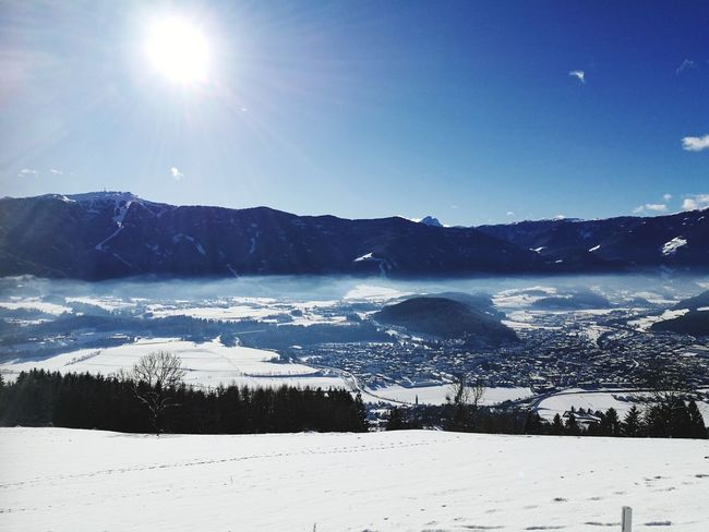 Panorama Panoramic View Panoramic Landscape Winter Wonderland Wintertime Winter Winterscapes Holidays Mountain Mountain View Mountains And Sky Water Astronomy Moon Beach Snow Sea Cold Temperature Winter Mountain Sky Frost Frozen Lake Cold Snowdrift Snowing Ice Weather Condition Shining