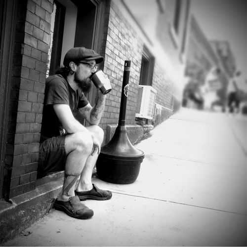 Outdoor Seating... Shootermag AMPt_community EyeEm Bnw Street Photography