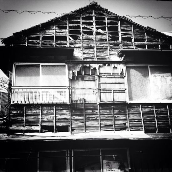 廃屋 Mono Photo Monochrome