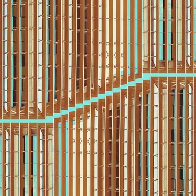 Half smile behind the curtain | Media sonrisa tras la cortina Architecture Abstractarchitecture Exploring Awesome Architecture