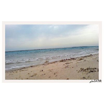 الهافمون الجبيل Beach Sand water sea waves wave ocean summer sun sunny seaside blue yellow view nature HASH_STAGRAM instabeach beautiful instasummer beauty horizon coast sky cloud