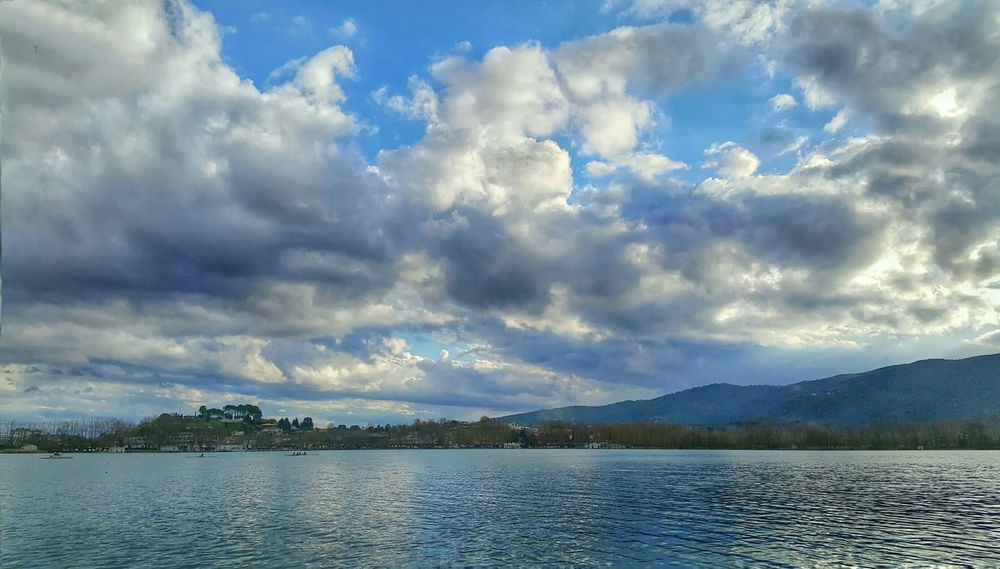 Cityscapes Clouds And Sky Banyoles Banyoles Girona