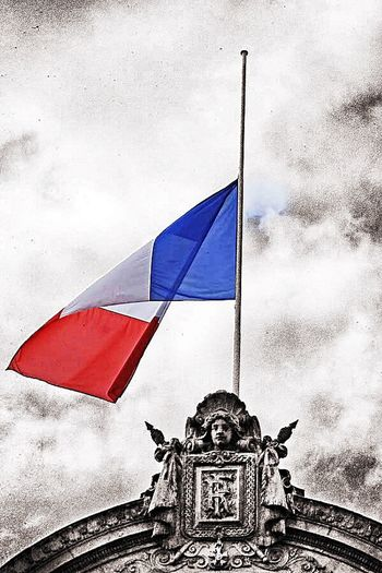 Crying With France Pray For Paris