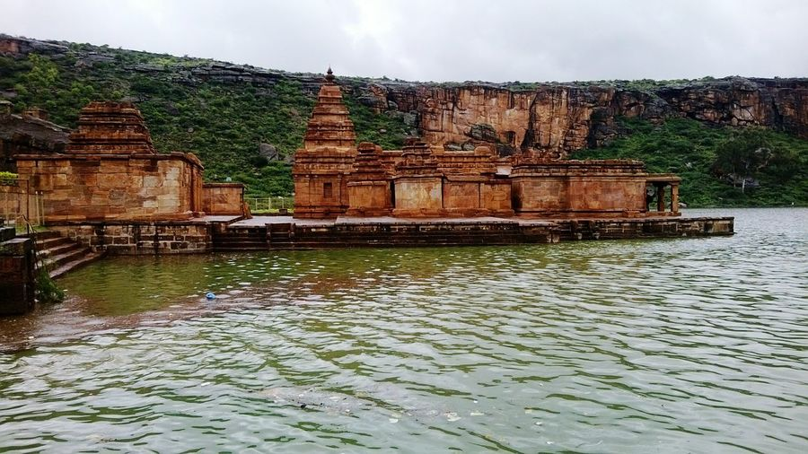 Water Outdoors Built Structure Architecture Cultures Chalukya's Badami