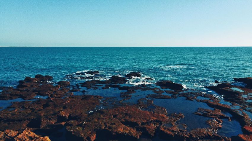 Just clear Sea Relaxing Taking Photos Enjoying Life Nikond3300 Cadiz Photooftheday Mar Rock Rocas Y Mar
