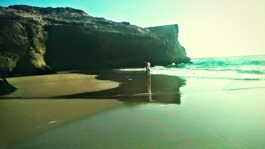 Summer Sea Beach Agadir Morocco Traveling ..