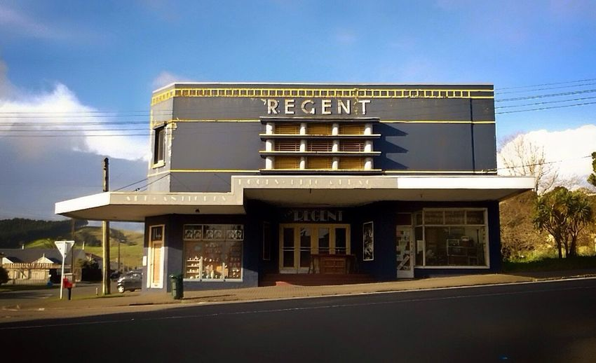 What's Playing? Cinema Moviescene Helensville Regent Auckland Building Architecture Smalltown Outdoors Winter