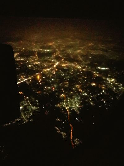 Be. Ready. Night Cityscape Illuminated Night Time Shot From A Plane Exciting Adventures New Experience My Travel Diaries Aerial Shot