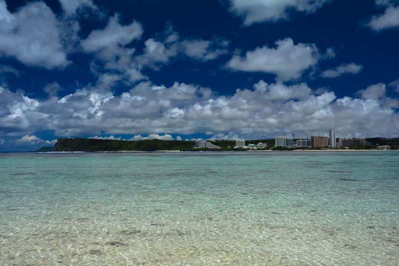Northern Mariana Islands Northern Marianas Islands Architecture Beach Beauty In Nature Blue Building Exterior Built Structure Cloud - Sky Day Guam Land Nature No People Outdoors Scenics - Nature Sea Sky Tranquil Scene Tranquility Turquoise Colored Water Waterfront
