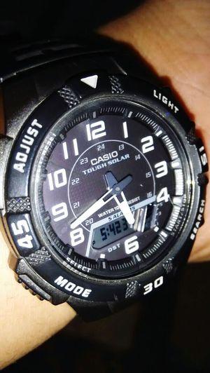 Casio ToughSolar Watch The Clock First Eyeem Photo