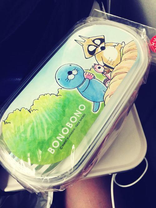 今日の戦利品(∩^o^)⊃━☆゚.*・。 Bonobono Lunch Box Shinjuku Shopping Blunch