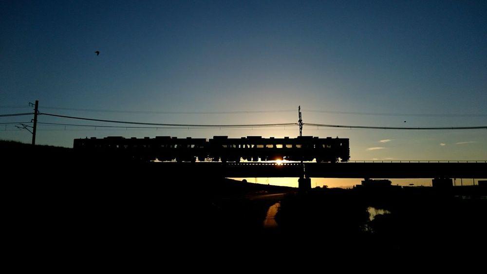 Trip Train Sunset Sony Xperia Z3