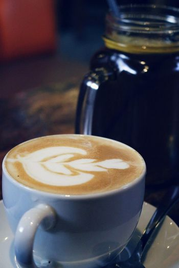 Let's have some coffee... Foodandbeverage Coffeetime StillLife Cappucinno Close-up Photography