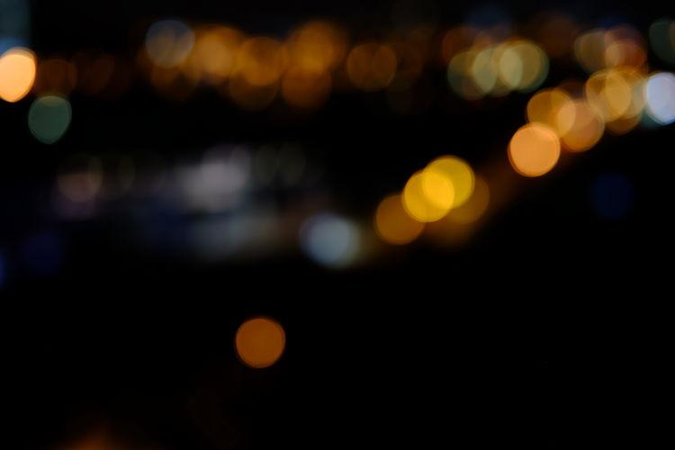 Bokeh blurred