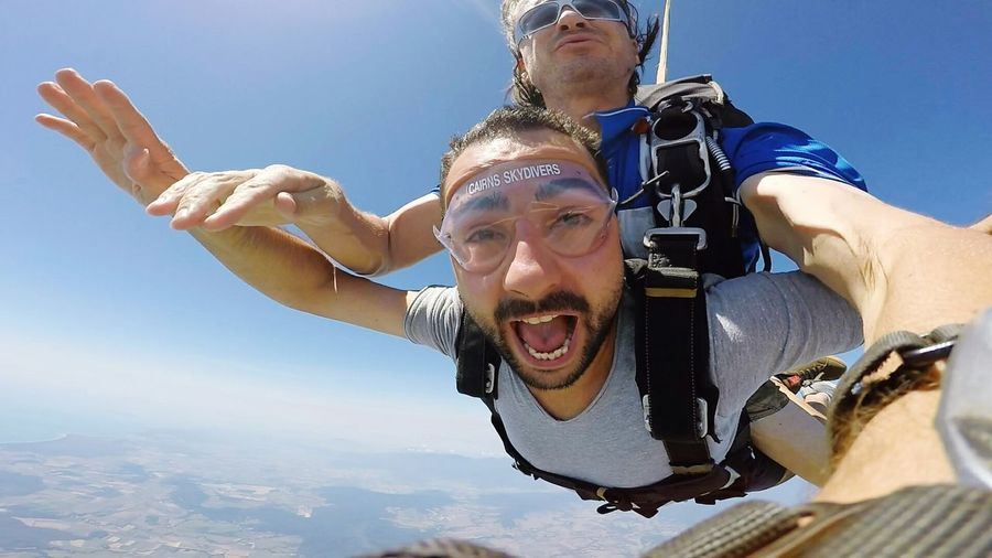 Fun Enjoyment Sky Skydiving Skydive Cairns JustDoIt Einfach Machen  Australia My Trip My Travel  Done